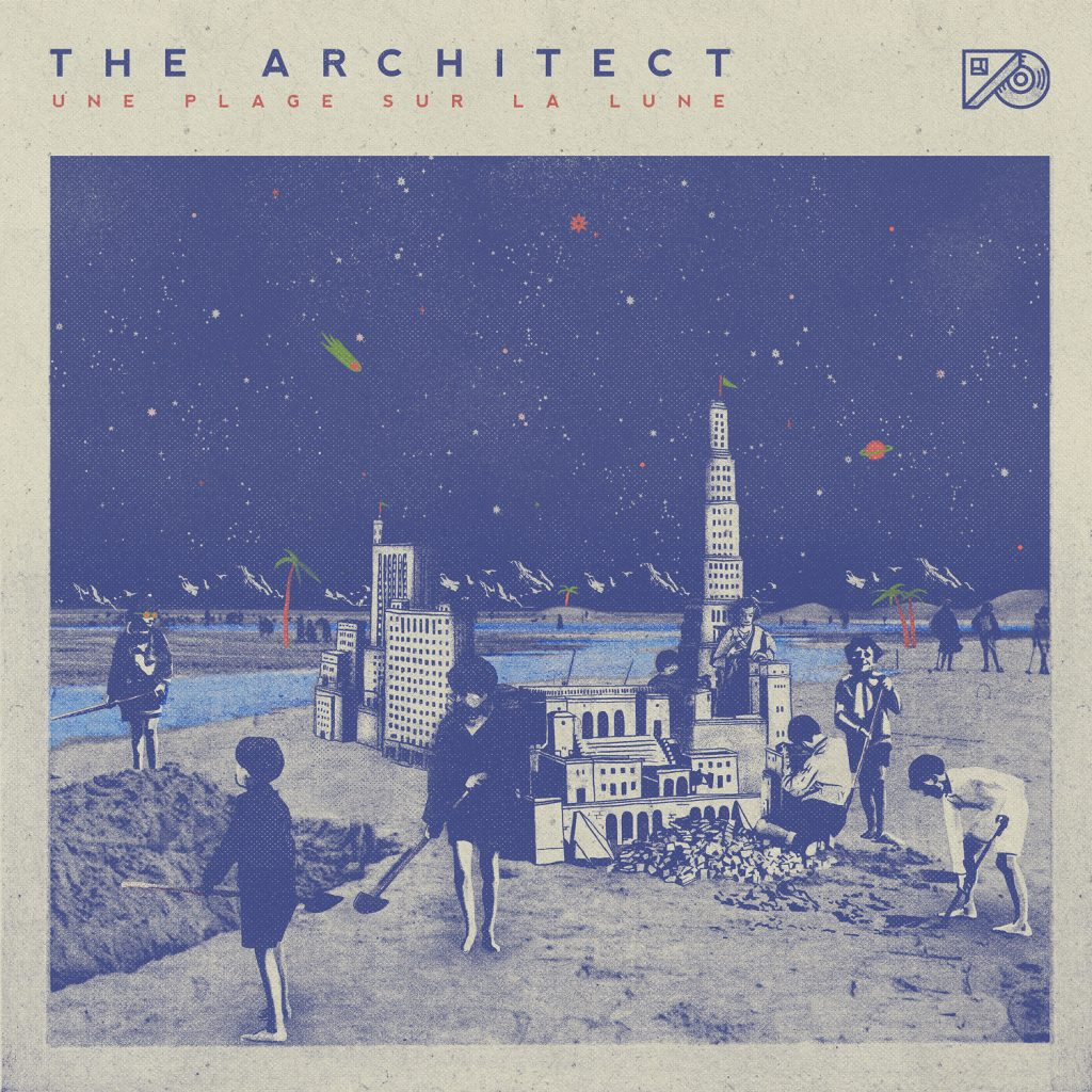 The Architect une plage sur la lune nouvelle album pochette