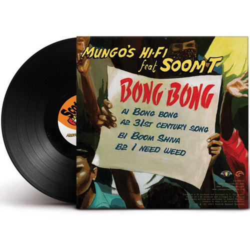mungo's hi fi feat soom t bong bong ep vinyle