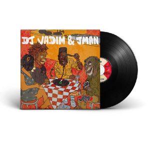 dj vadim jman vinyle heart attack 45T