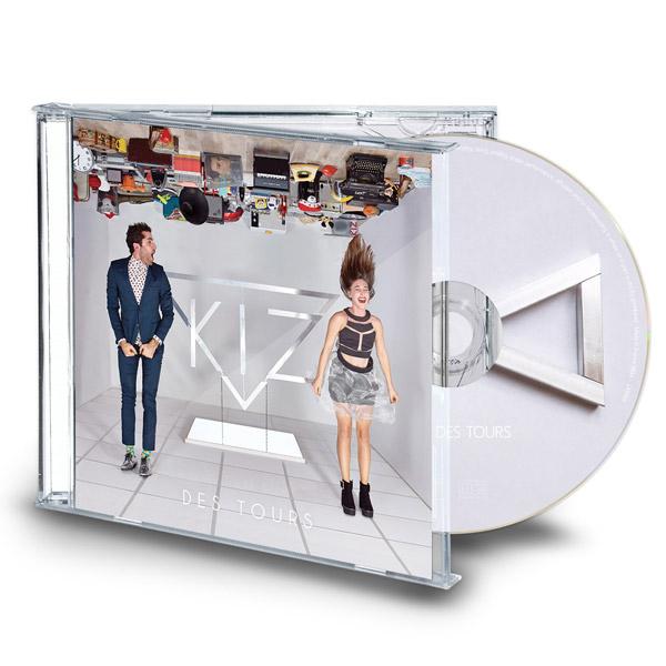 kiz album des tours cd