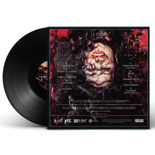 la yegros album vinyle suelta
