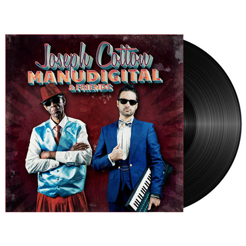 manudigital joseph cotton and friends ep vinyle