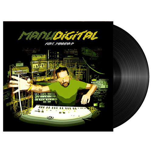 "manudigital vinyle ""digital lab "" Feat Marina P"""