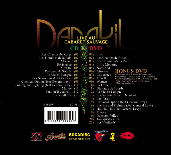 danakil live dvd cd paris cabaret sauvage