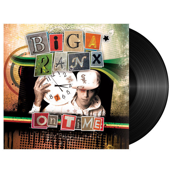 biga ranx on time vinyle album