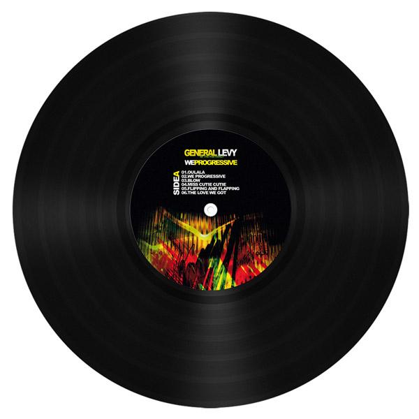 general levy album we progressive vinyle