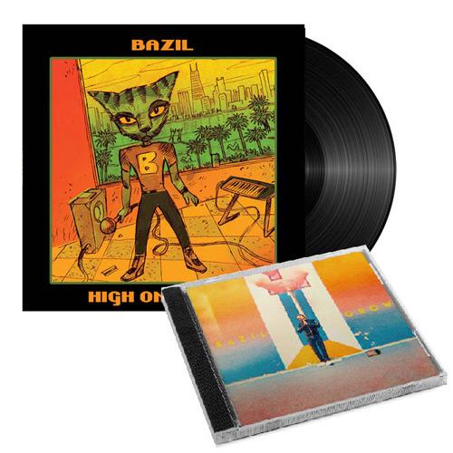 Bazil PACK Cd Grow + vinyle High On Music