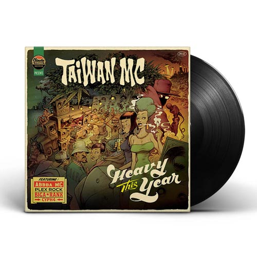 taiwan mc heavy this year vinyle