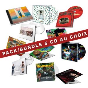 pack 5 Cd au choix shop x ray