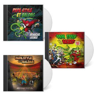 papa style et baldas pack 3 cd