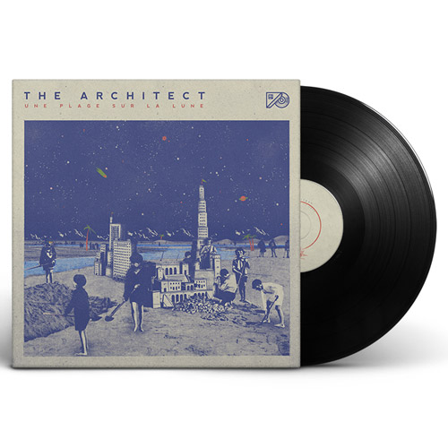 the architect une plage sur la lune album vinyle