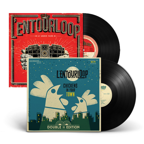 L'Entourloop PACK VINYLE Le Savoir Faire Chickens In Your Town