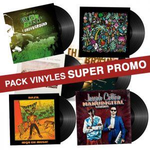 PACKS VINYLES SUPER PROMO X-RAY