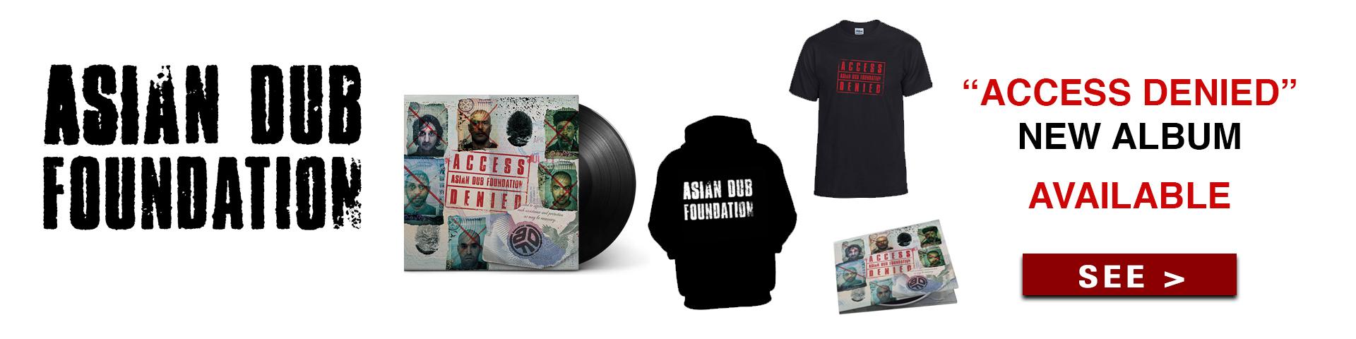 Asian dub foundation merchandising shop x-ray