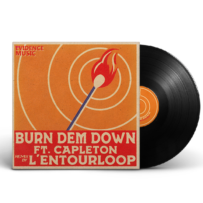 l-entourloop-45t-burn-dem-down-feat-capleton-remix-vinyle