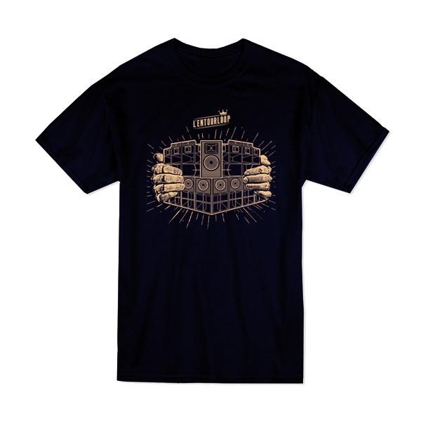 l-entourloop-tshirt-navy-soundsystem