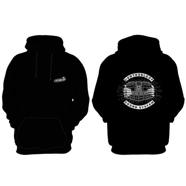 l-entourloop-hoodie-black-soundsystem-front-back