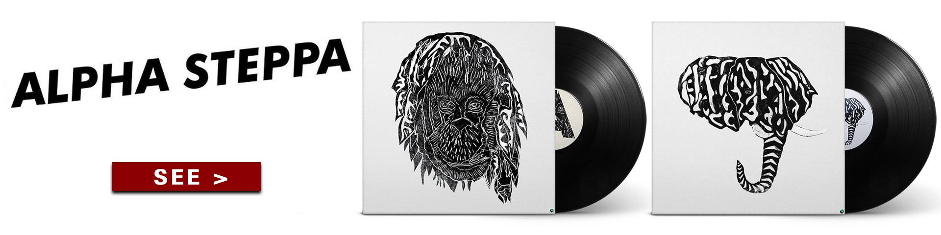 alpha-steppa-vinyls