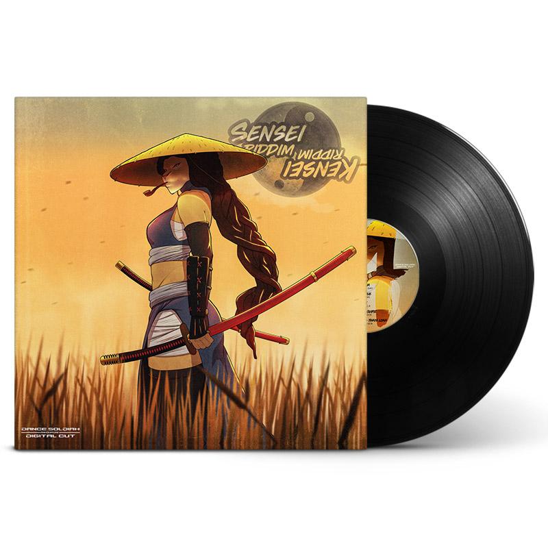 Kensei-sensei-riddim-vinyl-front